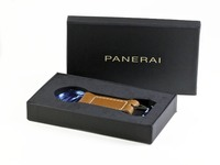 Panerai Keychain Watch Accessory Brown Leather - www.Legendoftime.com - Chicago Watch Center