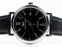 IWC Watch - Portofino Black Dial IW356502
