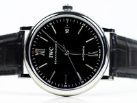 IWC Watch - Portofino Black Dial IW356502
