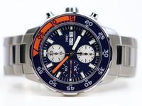 IWC Watch - Aquatimer Chronograph Orange/Blue IW376703