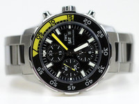 IWC Watch - Aquatimer Chronograph Yellow/Black IW376708 - www.Legendoftime.com - Chicago Watch Center