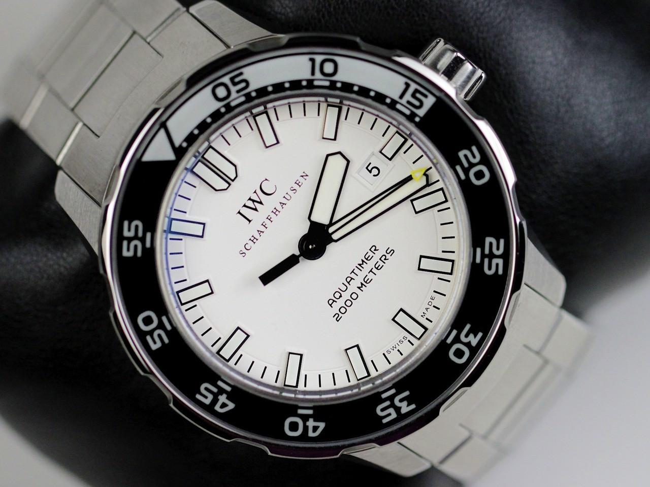 Dial - IWC Watch - Aquatimer 2000 Automatic IW356809 - www.Legendoftime.com - Chicago Watch Center