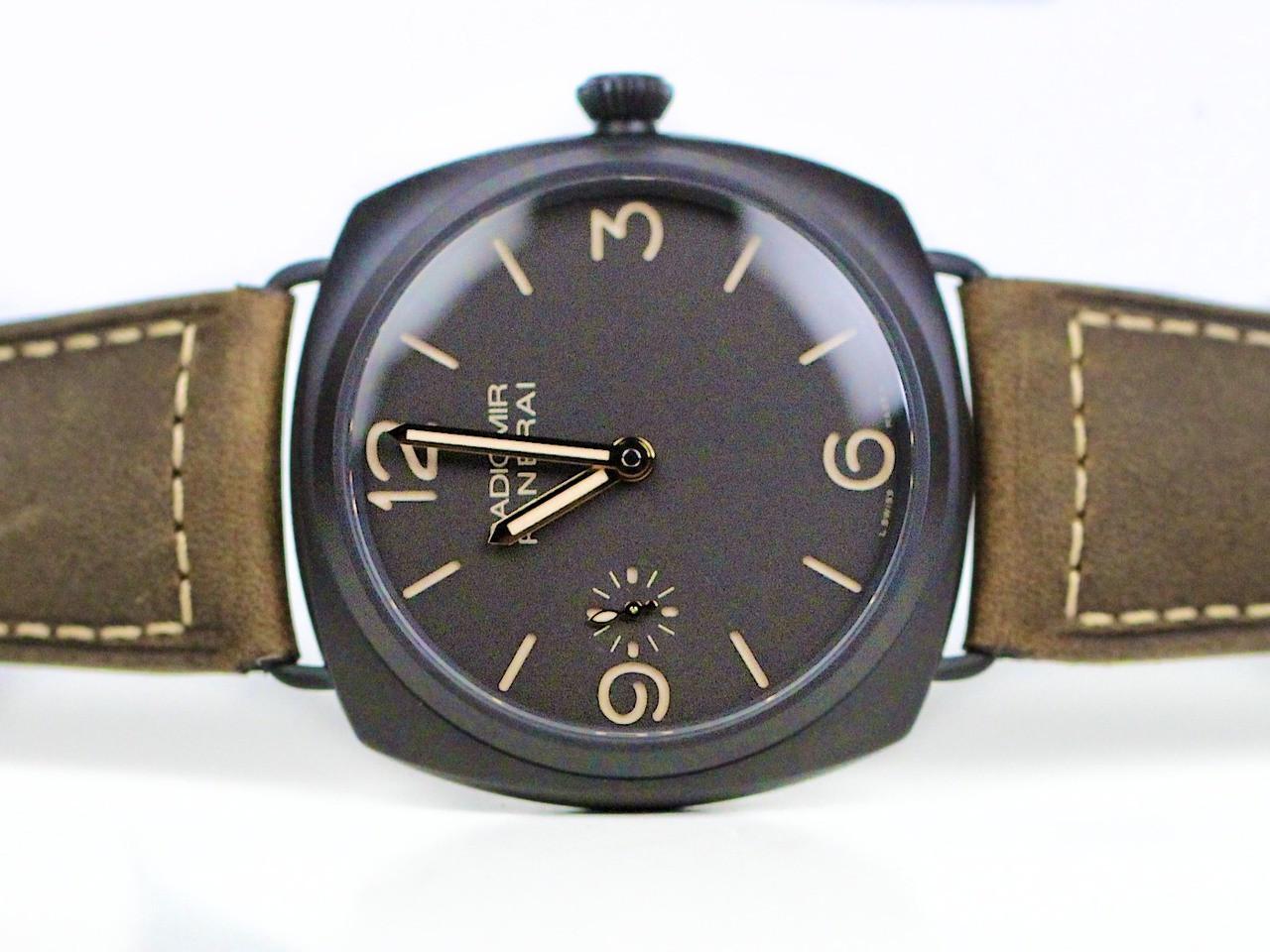New Panerai Watch - Radiomir Composite 3 Days PAM 504 www.Legendoftime.com - Chicago Watch Center