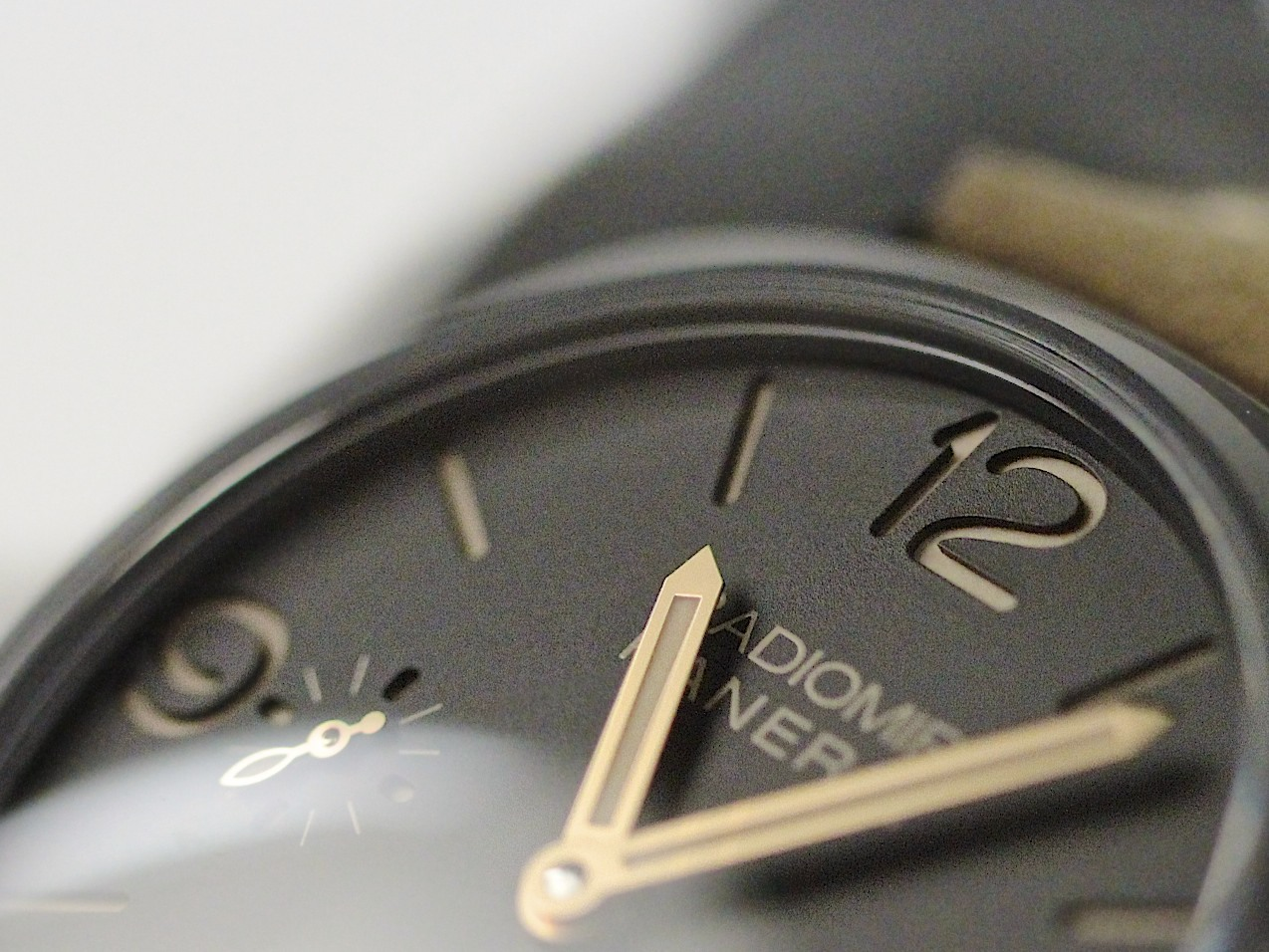 Dial & Gold Hands - New Panerai Watch - Radiomir Composite 3 Days PAM 504 www.Legendoftime.com - Chicago Watch Center