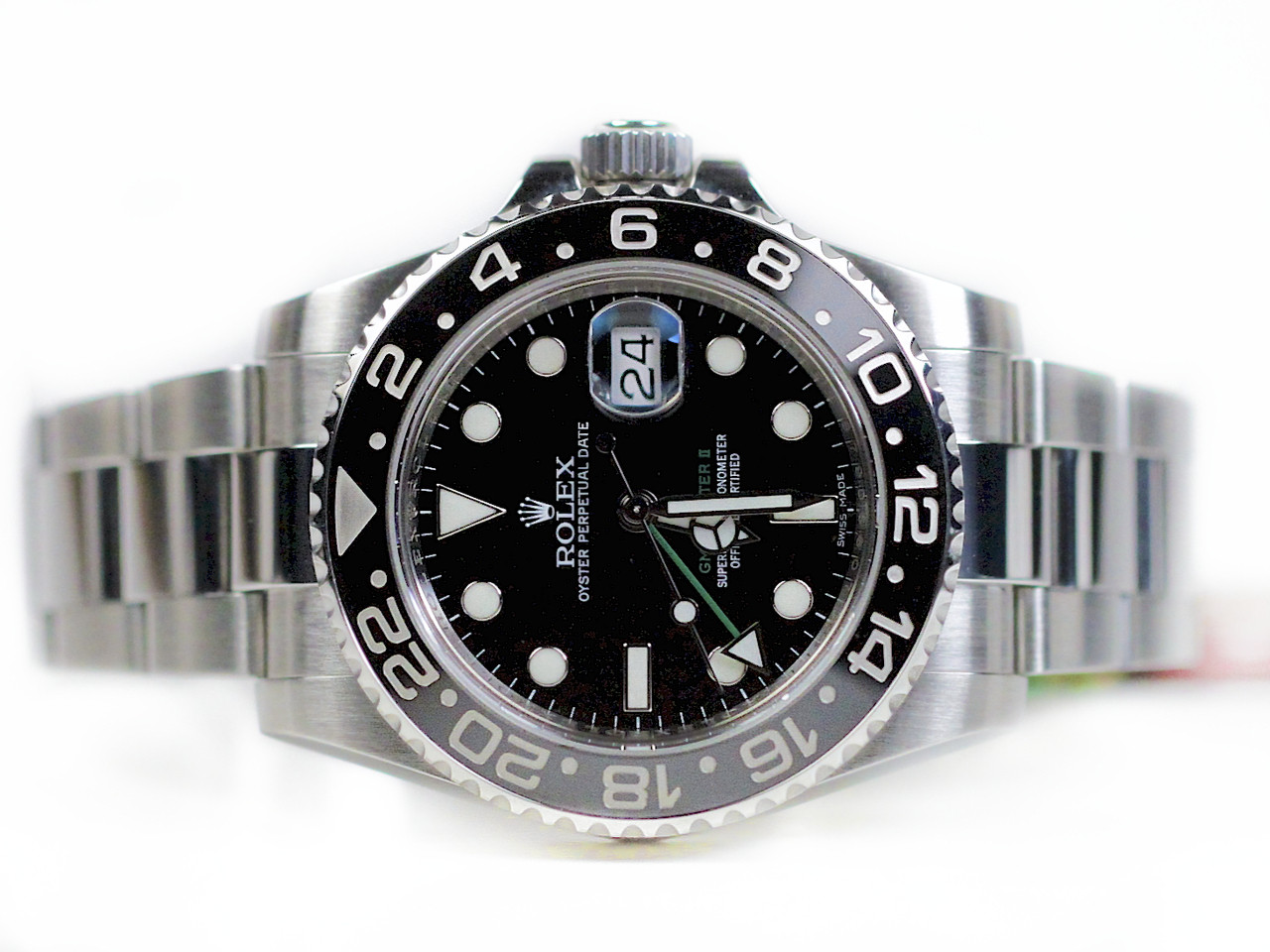 0470f54c5261 Rolex Watch GMT Master II Steel Ceramic New Style 116710 LN Swiss  www.legendoftime.com