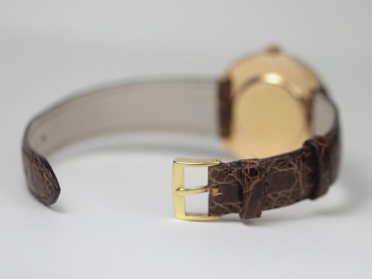Tang Buckle - Vintage Vacheron Constantin Vintage Gold Watch - www.Legendoftime.com - Chicago Watch Center