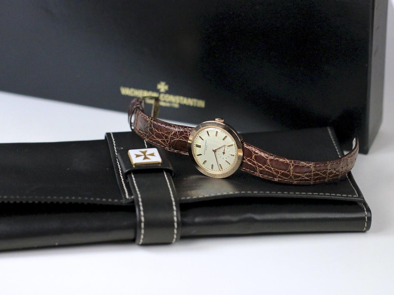 Travel Case & Box - Vintage Vacheron Constantin Vintage Gold Watch - www.Legendoftime.com - Chicago Watch Center