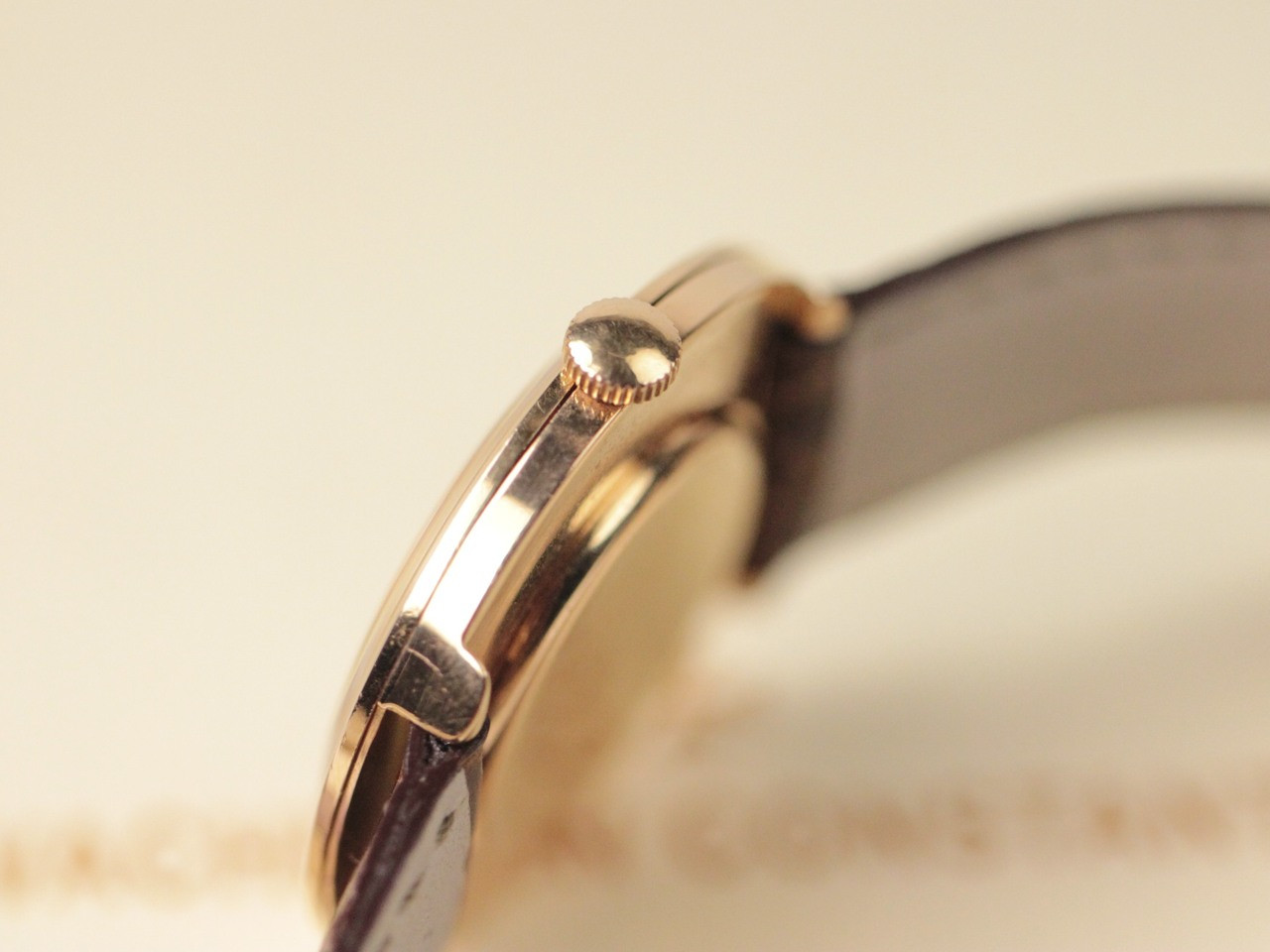 Rose Gold Case & Crown - Vintage Vacheron Constantin Vintage Gold Watch - www.Legendoftime.com - Chicago Watch Center