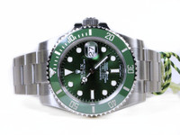 Rolex Watch - Green Steel Submariner 116610LV Pre-Owned - www.Legendoftime.com - Chicago Watch Center