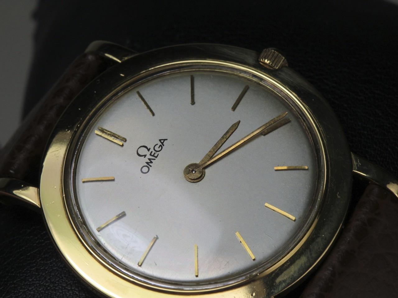 Bezel Polish Detail - Omega Watch - Vintage 18K Yellow Gold 14718 - www.Legendoftime.com - Chicago Watch Center