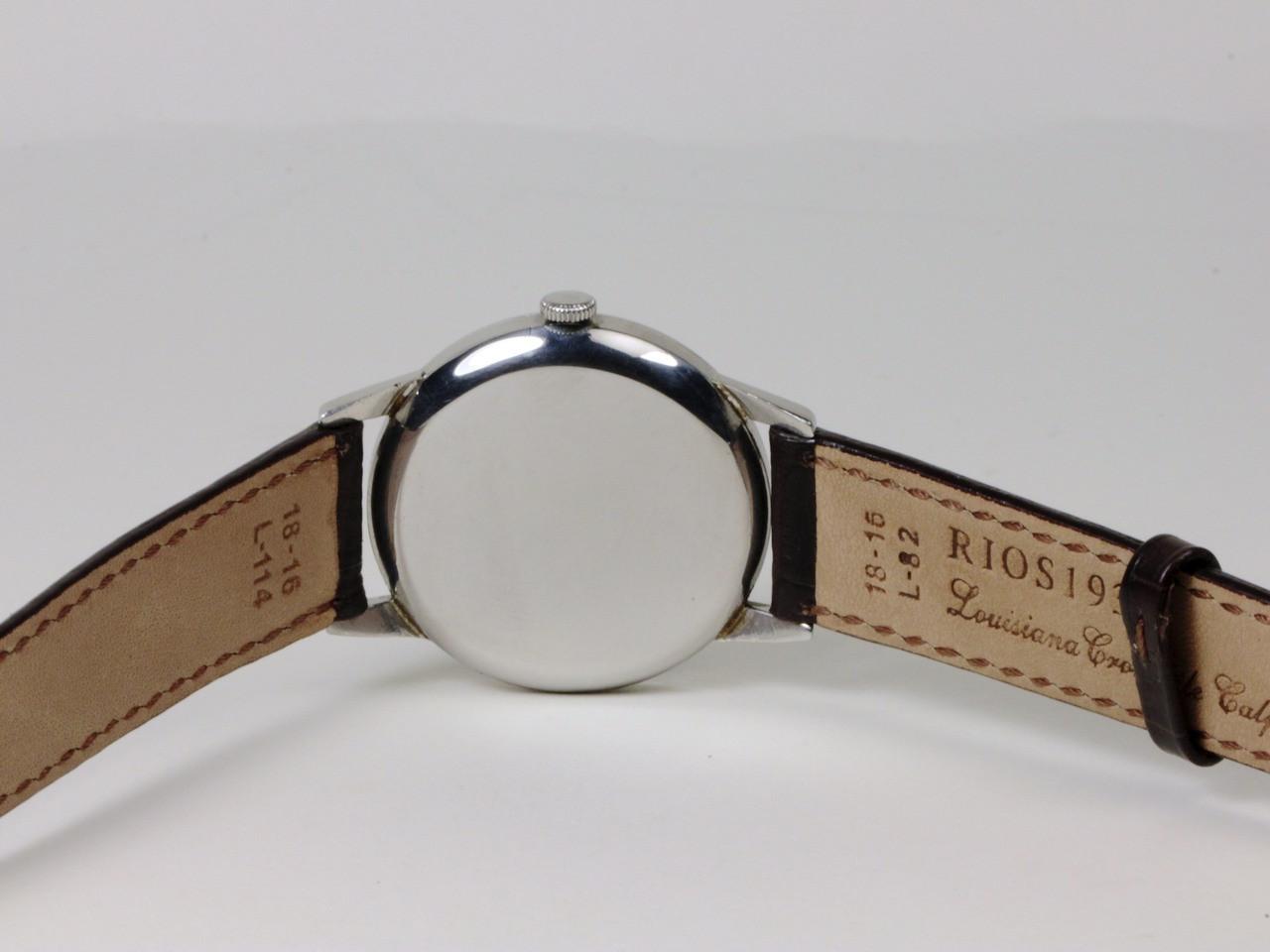 Case Back - Vintage IWC watch - Vintage Black Dial  - www.Legendoftime.com - Chicago Watch Center