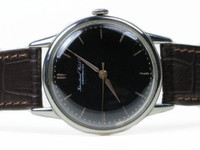 Vintage IWC watch - Vintage Black Dial  - www.Legendoftime.com - Chicago Watch Center