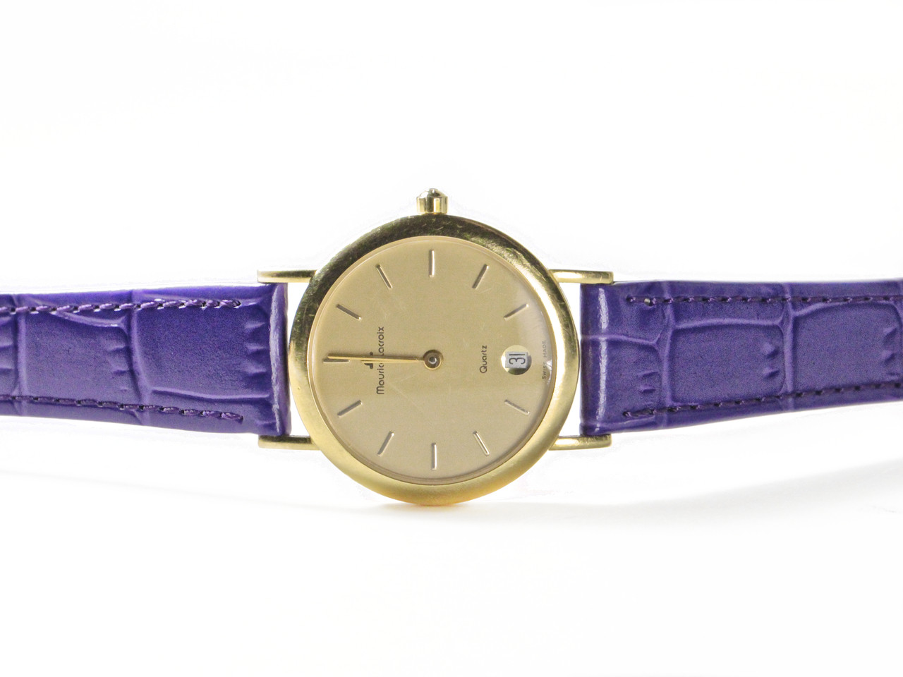 Vintage Maurice Lacroix Watch - Ladies 18K Yellow Gold 85634 - www.Legendoftime.com - Chicago Watch Center