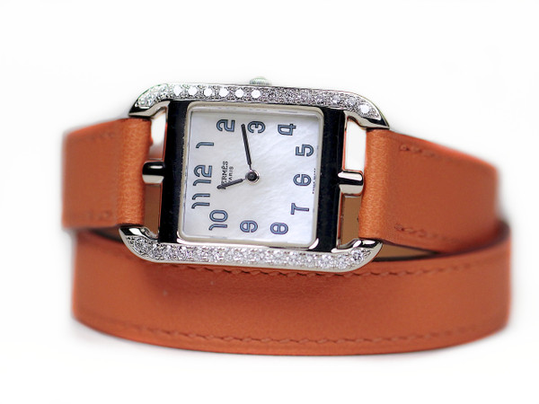 Hermes Watch - Cape Cod White Gold with Diamonds, Pre-Owned, www.Legendoftime.com - Chicago Watch Center