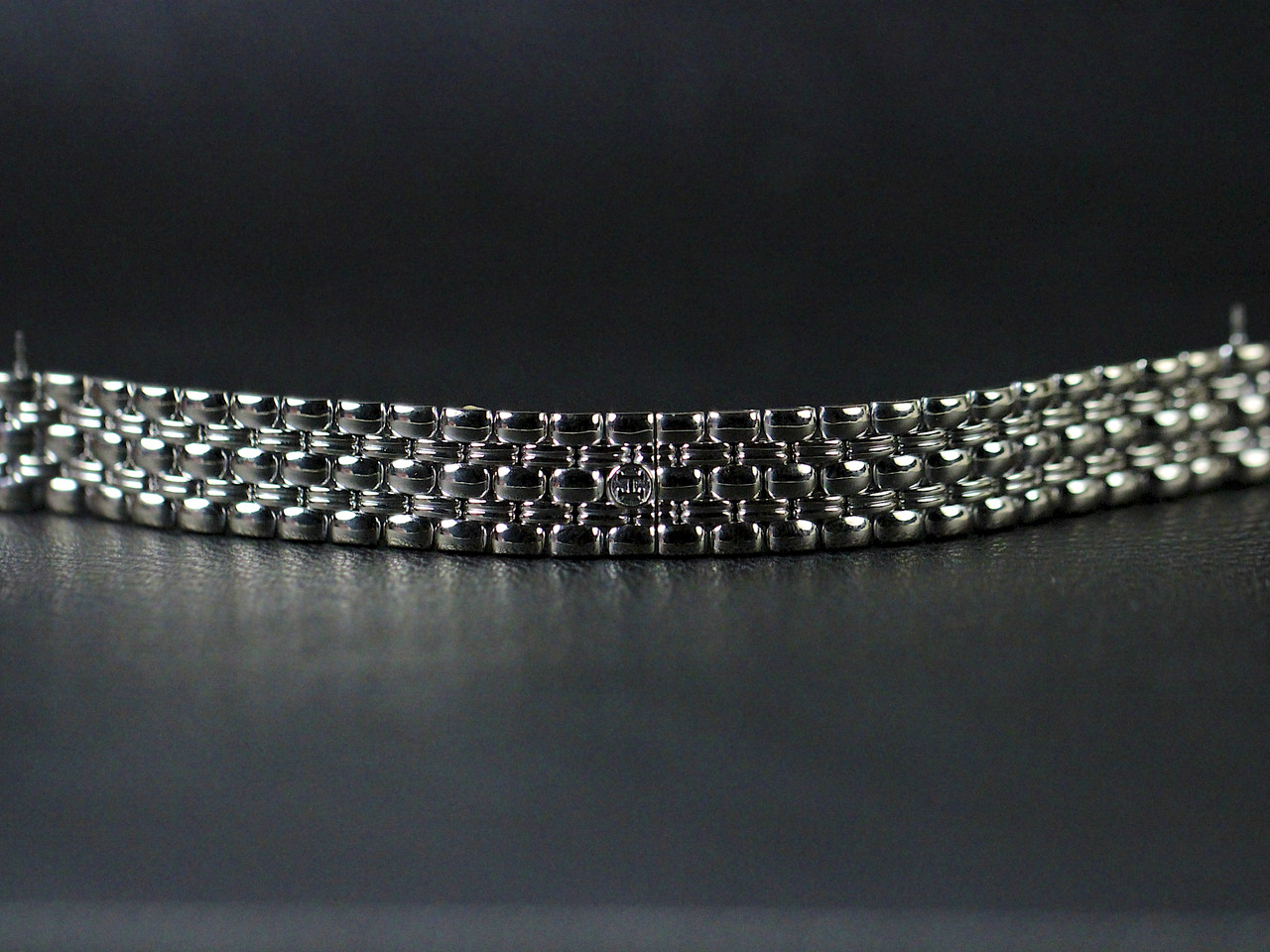White Gold Bracelet - Hermes Watch - Cape Cod White Gold with Diamonds, Pre-Owned, www.Legendoftime.com - Chicago Watch Center
