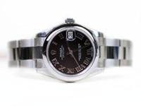 Rolex Watch - Datejust Lady 31 Domed Bezel Oyster Bracelet 178240