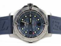 Pre-Owned Breitling Watch - Superocean Steelfish Blue A17390 - www.Legendoftime.com - Chicago Watch Center