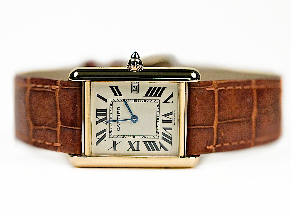 8fde5c3d2b1 Cartier Watch - Tank Louis Cartier W1529756 used sale www.legendoftime.com