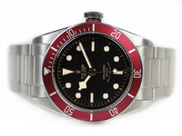 Pre-Owned Tudor Watch Heritage - Black Bay Automatic Black Dial 79220R www.Legendoftime.com Chicago Watch Center