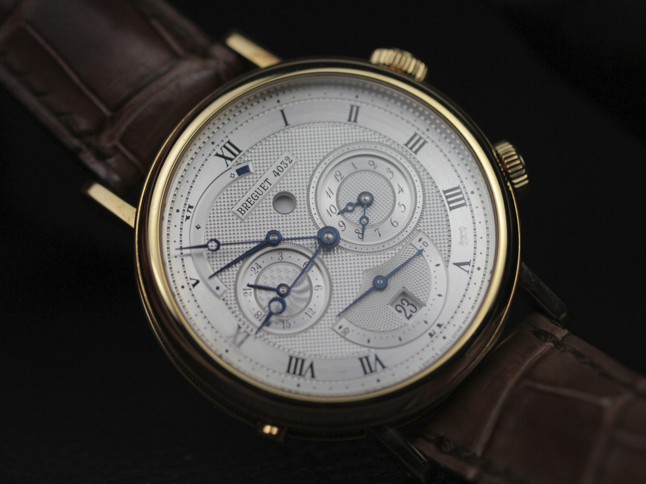Breguet Watch - Classique GMT Alarm Yellow Gold 5707.BA.12.9V6 - www.Legendoftime.com - Chicago Watch Center
