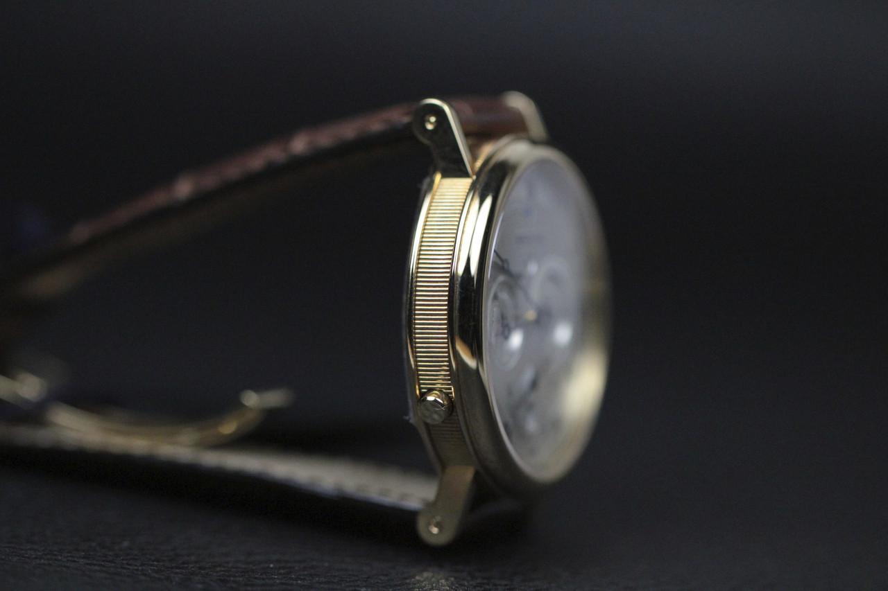Side  - Breguet Watch - Classique GMT Alarm Yellow Gold 5707.BA.12.9V6 - www.Legendoftime.com - Chicago Watch Center