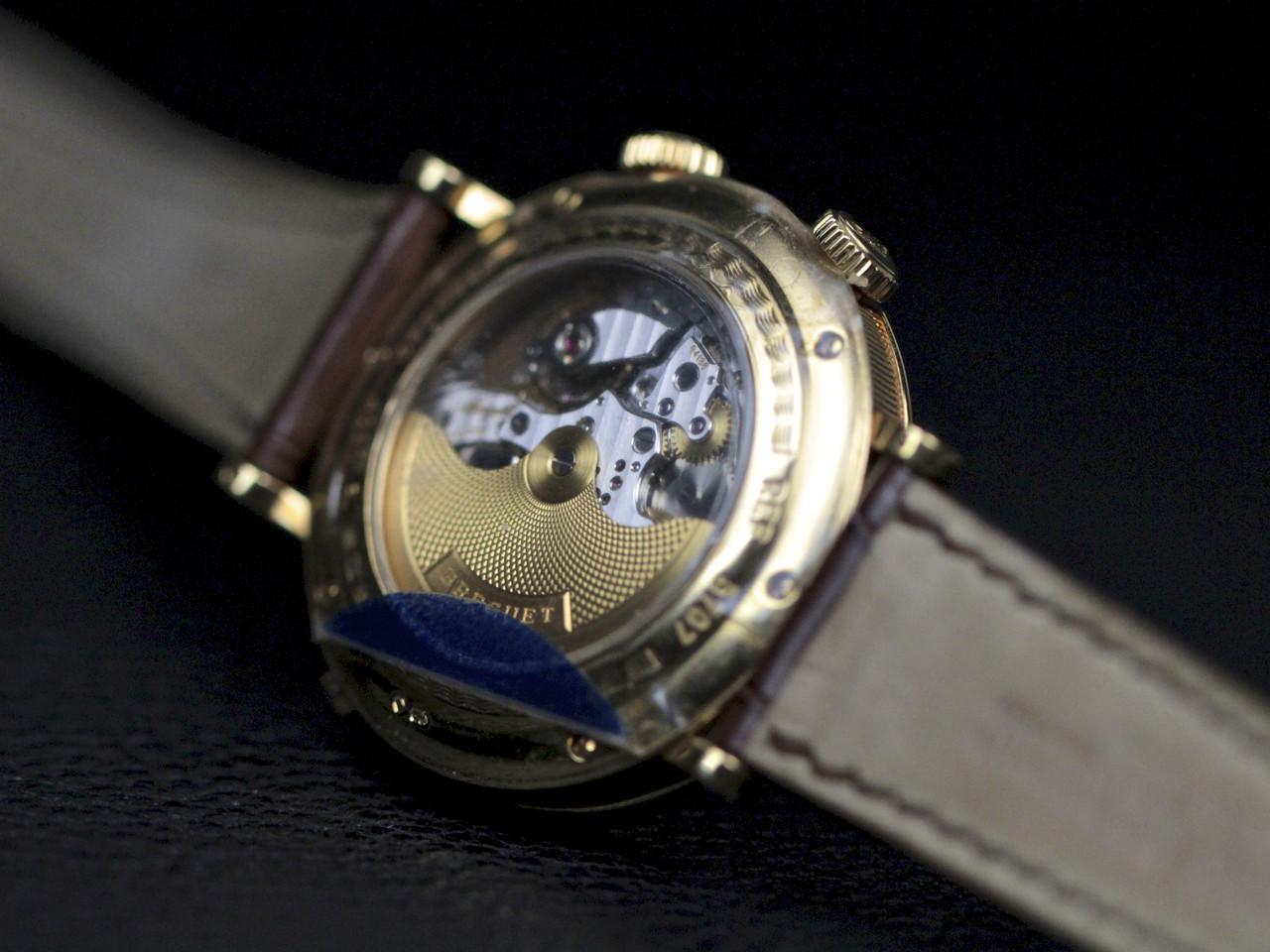 Exhibition Case Back - Breguet Watch - Classique GMT Alarm Yellow Gold 5707.BA.12.9V6 - www.Legendoftime.com - Chicago Watch Center