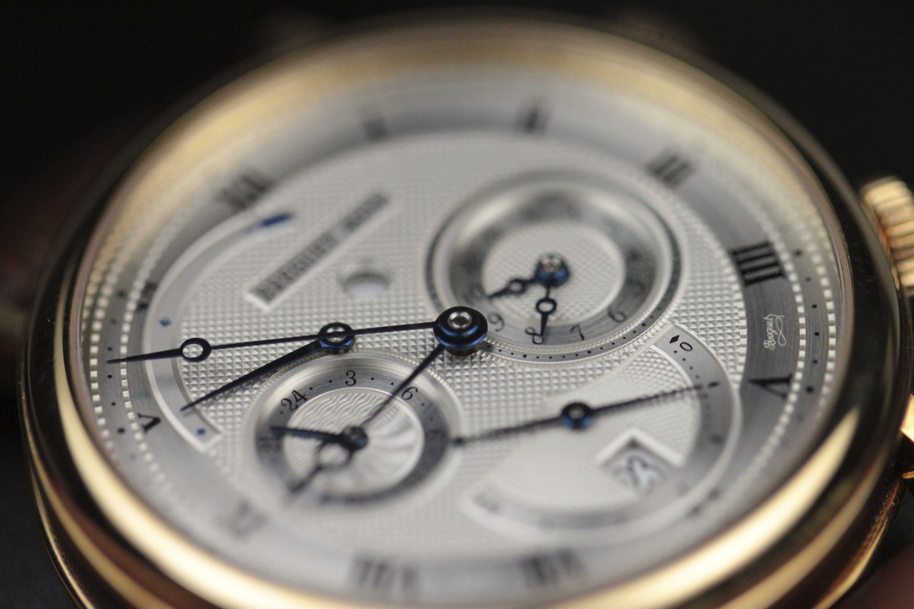 Dial - Breguet Watch - Classique GMT Alarm Yellow Gold 5707.BA.12.9V6 - www.Legendoftime.com - Chicago Watch Center
