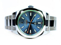 Rolex Watch - Milgauss Blue Dial 116400GV - www.Legendoftime.com - Chicago Watch Center