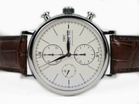 IWC Watch - Portofino Silver Dial Chronograph IW391007 : Pre-Owned , Legend of Time - Chicago Watch Center