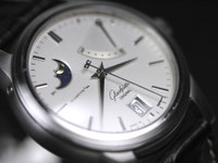 Dial - Glashutte Watch - Original Senator Power Reserve Moon-Phase (39-44-04-12-04) - used for sale online www.Legendoftime.com and in store Chicago Watch Center