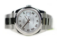 Rolex Watch Pictures - Datejust 36mm Steel Domed Bezel Oyster Bracelet 116200 Used for sale online www.Legendoftime.com and in store Chicago Watch Center