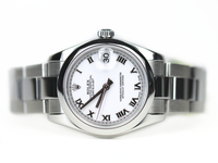 Pre-Owned Rolex Watch - Datejust Lady 31 White Dial Roman Numerals 178240 online www.Legendoftime.com and in Chicago Watch Center store