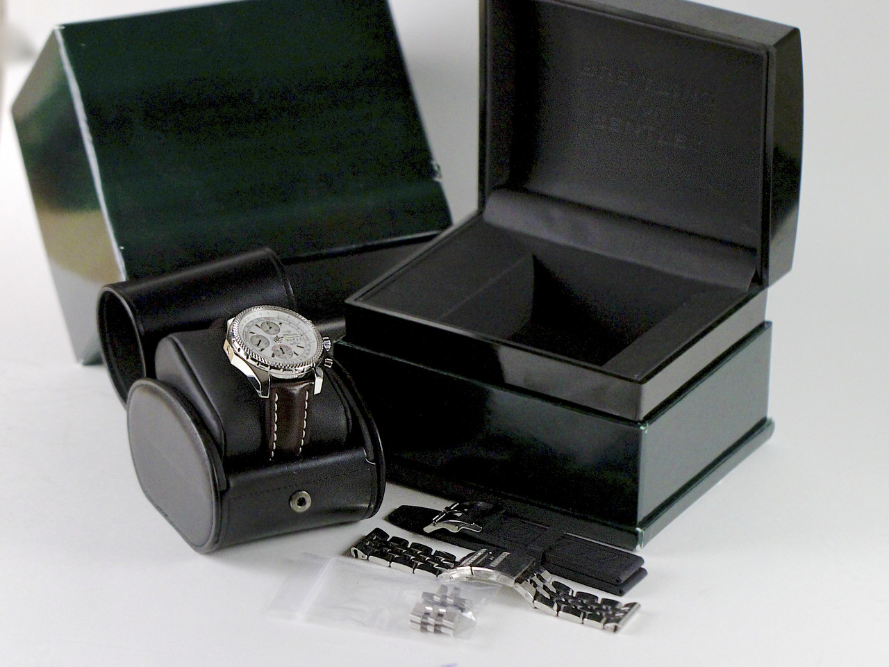 Complete Box & Papers, tags - For sale pre-owned Breitling Watch - Breitling for Bentley GT A13362 available online www.Legendoftime.com and in store Chicago Watch Center