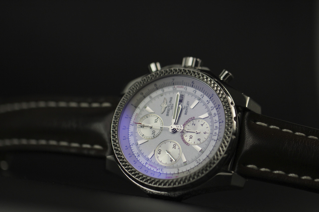 For sale pre-owned Breitling Watch - Breitling for Bentley GT A13362 available online www.Legendoftime.com and in store Chicago Watch Center