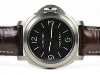 Pre-owned Panerai Watch - Luminor Base PAM00176 Titanium available for sale Legend of Time - Chicago Watch Center