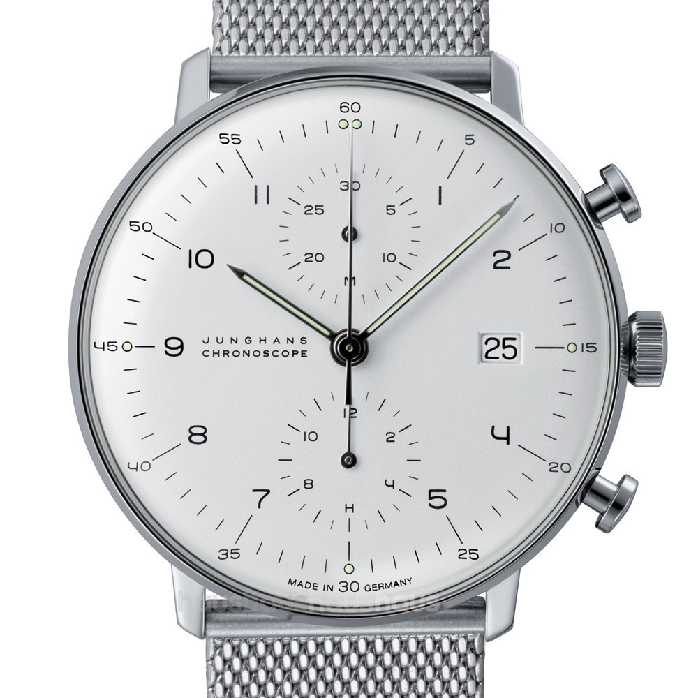 For sale MAX BILL 027/4003.44 CHRONOSCOPE WATCH BY JUNGHANS