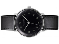 New for sale  Junghans Watch Max Bill Automatic Black Dial with Luminous Numerals by Junghans 027-3400.00 - available to purchase online www.Legendoftime.com and in store at Chicago Watch Center