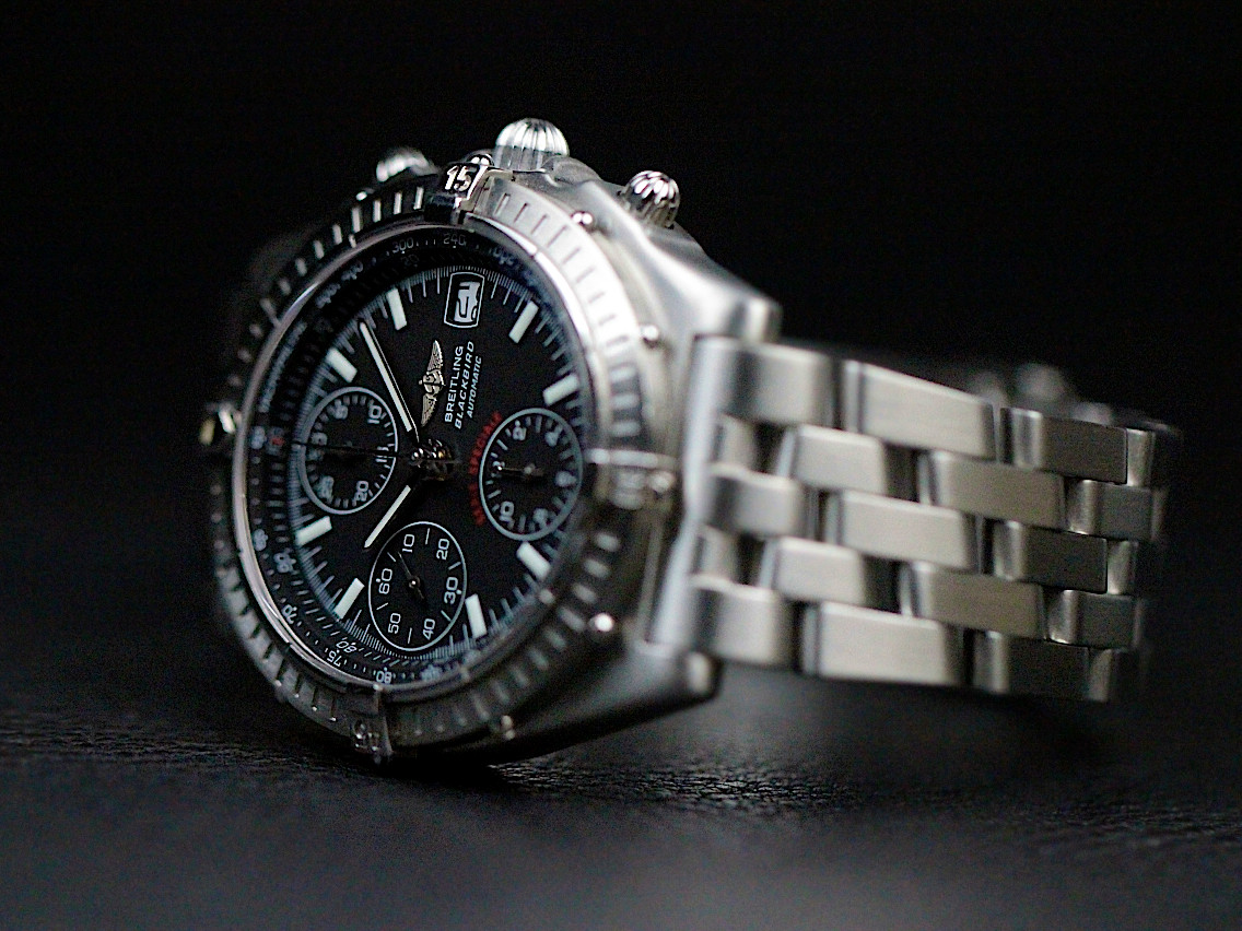 For Sale used Breitling Watch Chronomat Blackbird Chronograph Date A13350 available online www.Legendoftime.com and in store Legend of Time- Chicago Watch Center