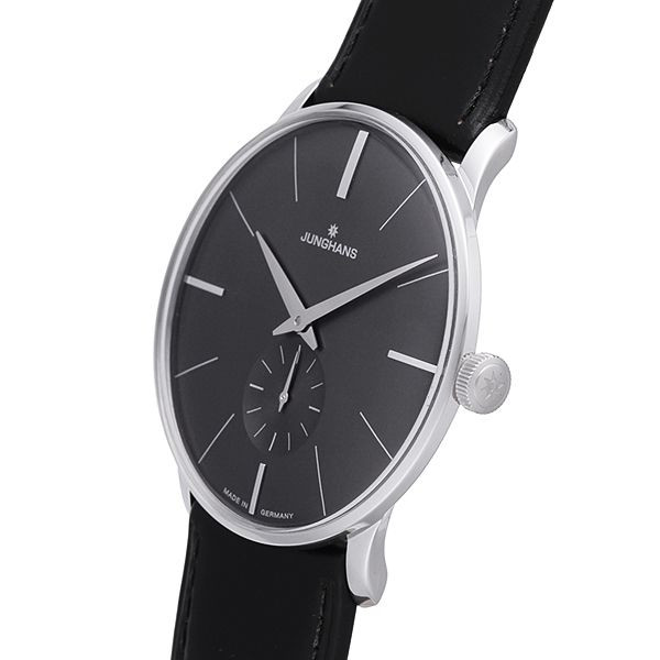 Junghans Watch Meister Hand-Winding Anthracite Grey Dial 027/3503.00 Sale