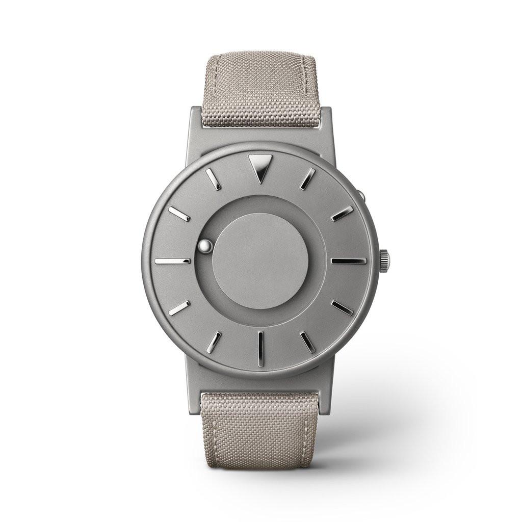 For sale online and in store in Chicago EONE Watch Bradley Canvas Beige Titanium Quartz (BR-C-BEIGE)