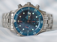 OMEGA Seamaster 300M Chrono Diver Titanium on Titanium bracelet 2298.80 Complete