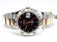 Rolex Watch- Datejust Turn-O-Graph - Fluted Bezel - Oyster Bracelet