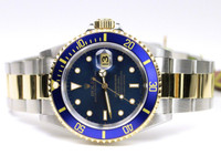 Rolex Watch- Submariner Steel & Gold