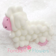 "1"" Royal Icing Sheep (15 per box)"