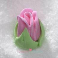 "1/2"" Royal Icing Rosebud - Medium - Pink (quantity 10)"