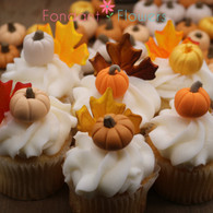 Gumpaste Pumpkins (12 per box)