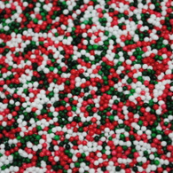 Christmas Mix Nonpariels (2 ounces)