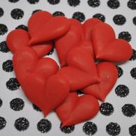 Royal Icing Red Hearts (15 per box)