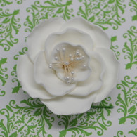 "3"" Briar Rose - White - Medium"