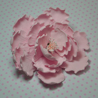 "4"" Garden Peony - Large - Pale Pink (Sold Individually)"
